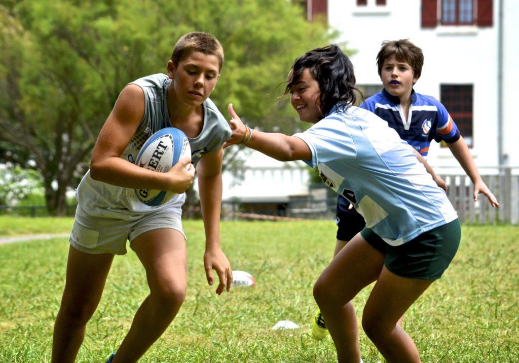 Evitement stages d'été de rugby au pays basque