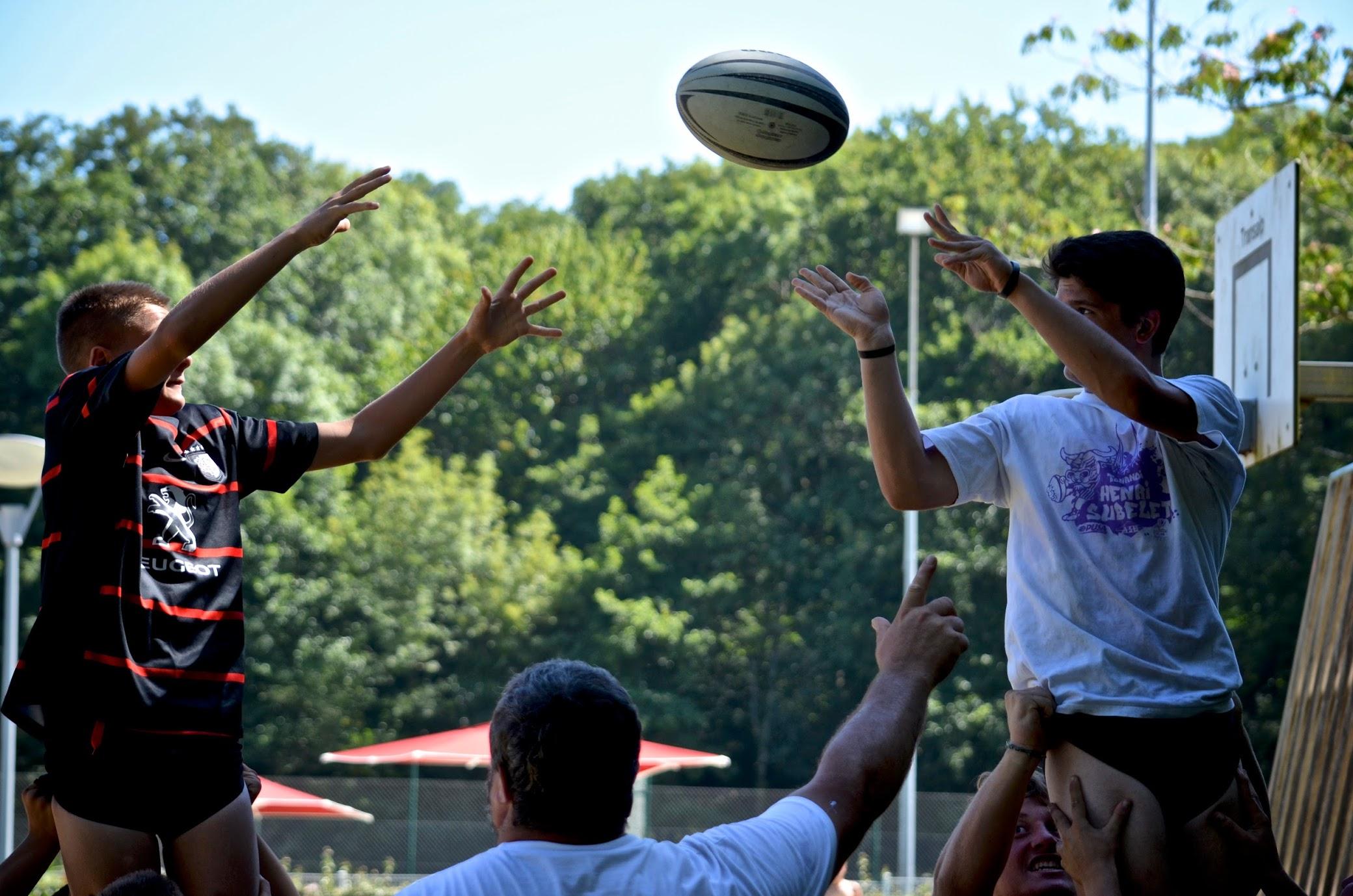 Stages de rugby au pays basque