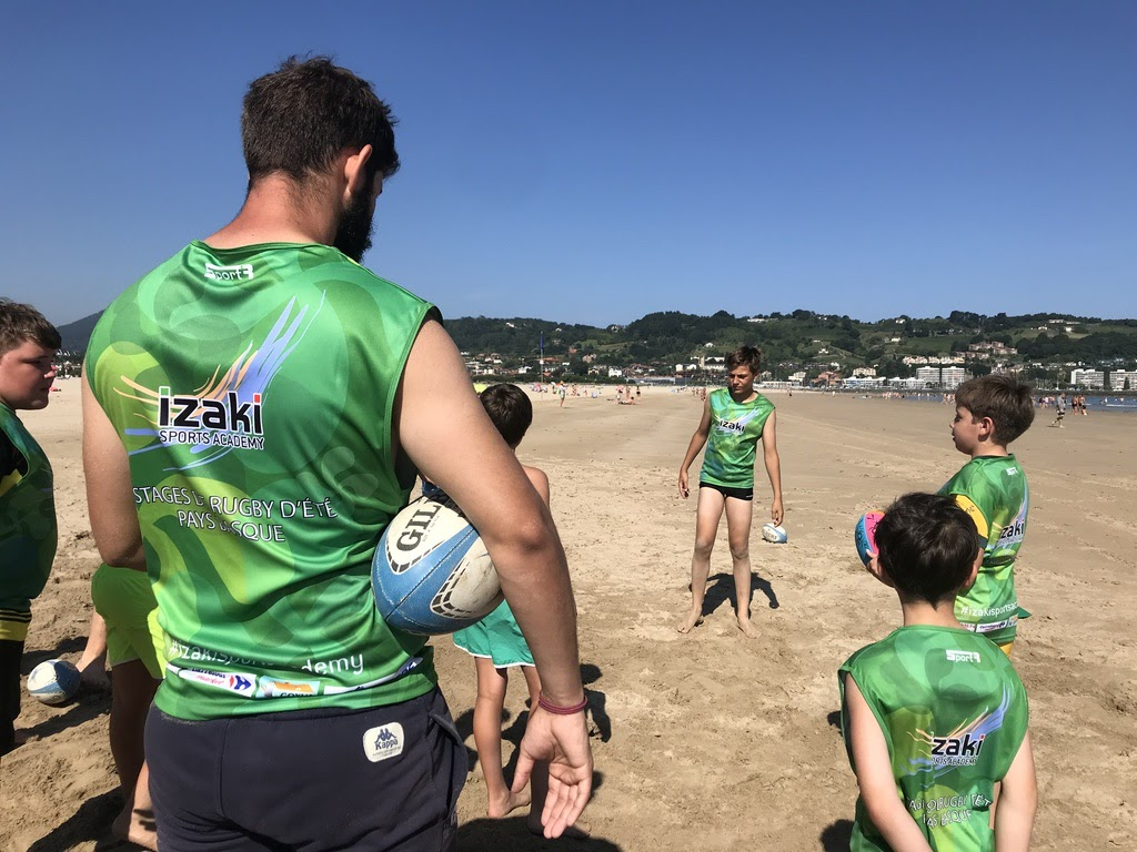 Stages de rugby au pays basque